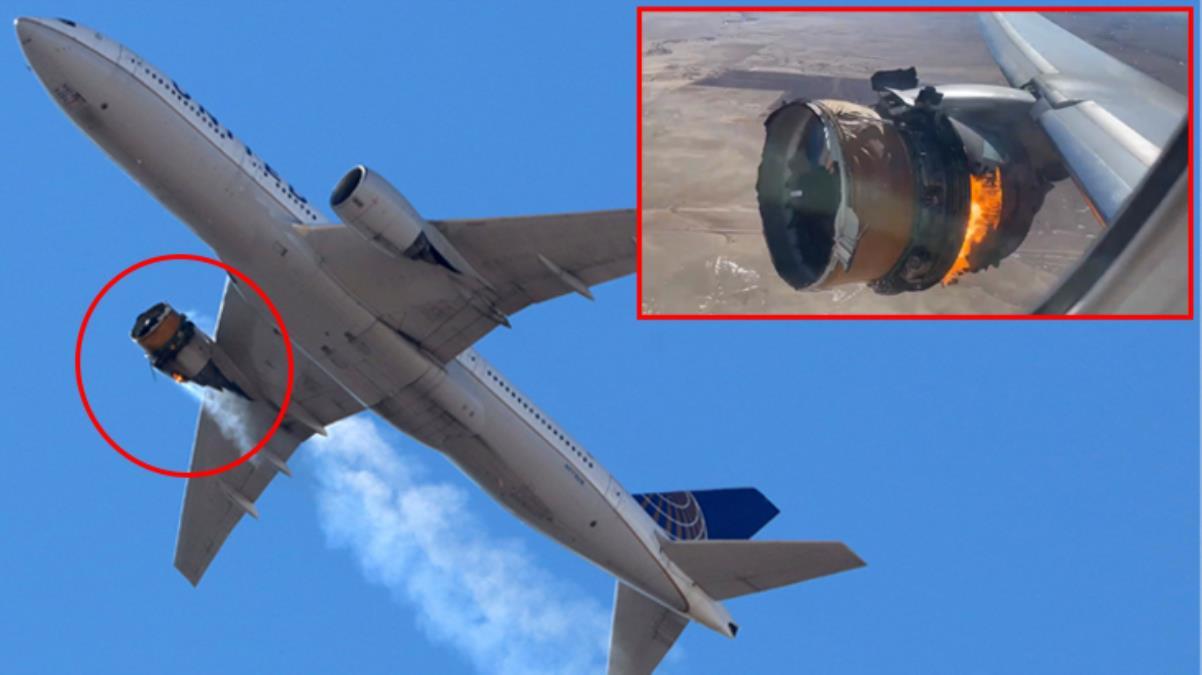 ABD'de motoru patlayan uçağın pilotları ile kule arasındaki diyalog ortaya çıktı: Üzerimizden bir şey geçti
