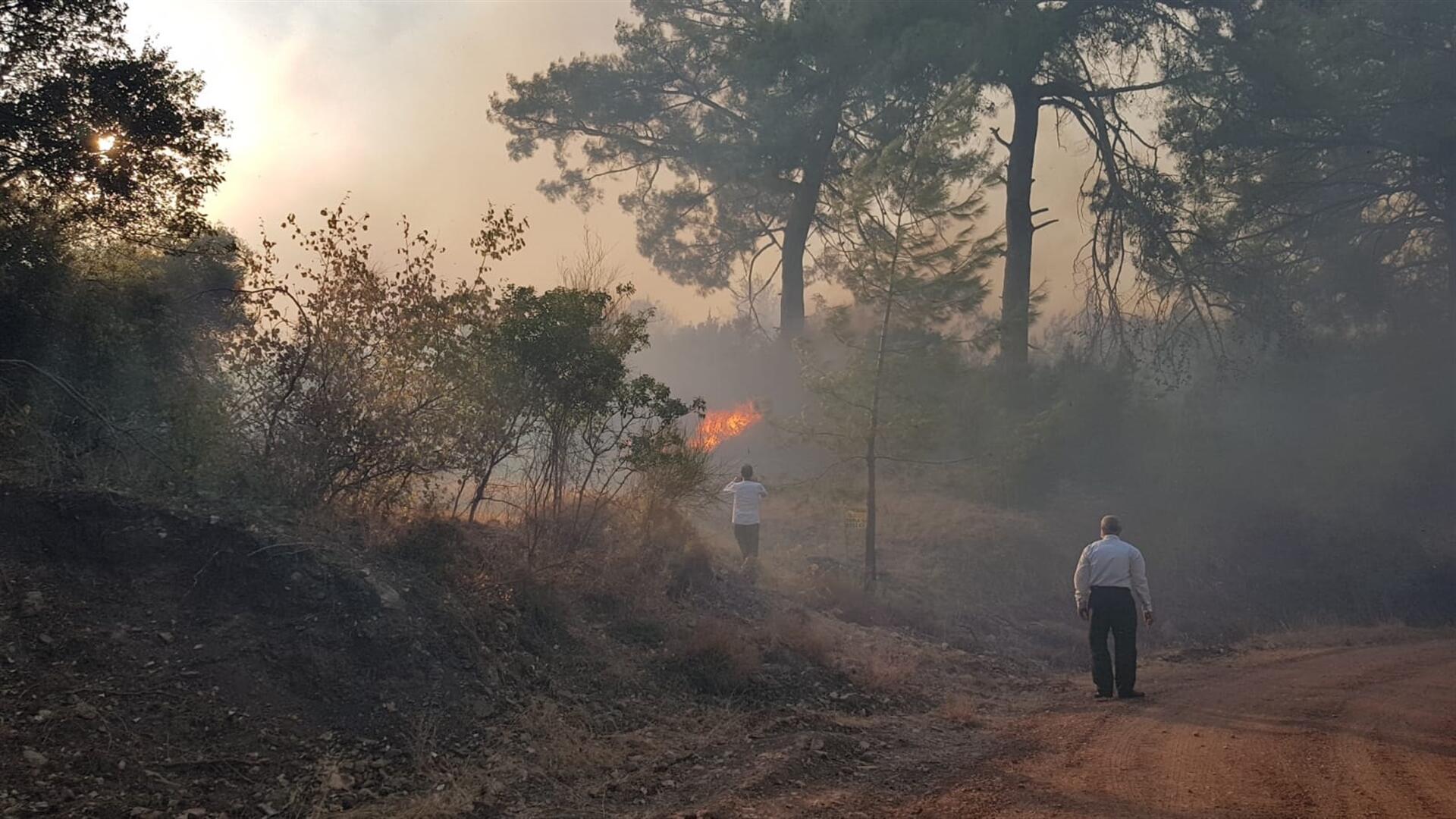 Antalya'da çıkan orman yangınları söndürüldü