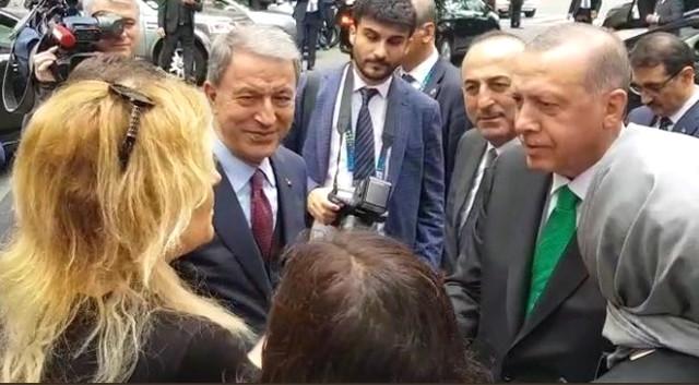 Arjantinli Kadın, Erdoğan'u Durdurup Tanışmak İstedi