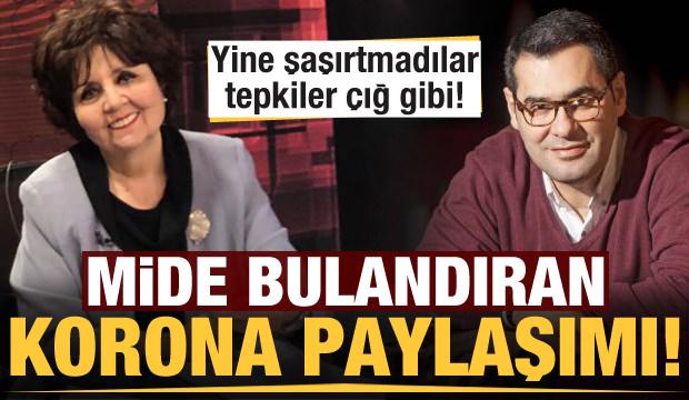 Ayşenur Arslan ve Enver Aysever'den skandal koronavirüs paylaşımı! Bu kadar da olmaz....