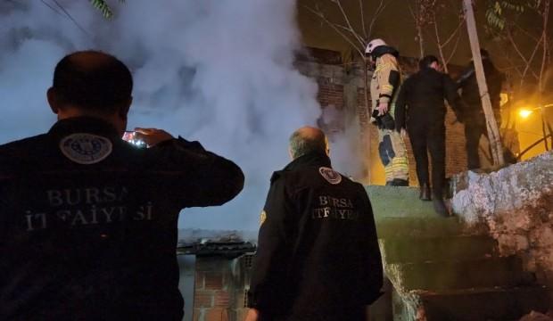 Bursa'da korkutan yangın: Faciadan dönüldü!
