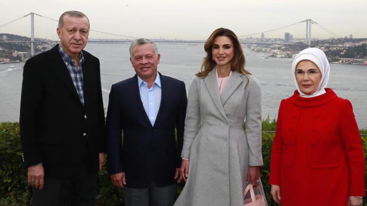 Cumhurbaşkanı Erdoğan, darbe girişimi iddiasıyla kardeşini ev hapsine aldıran Ürdün Kralı ile görüştü