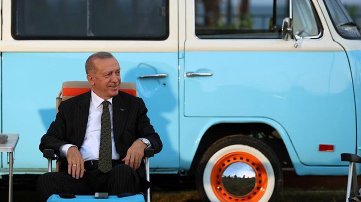 Cumhurbaşkanı Erdoğan'ı güldüren Emine Erdoğan sorusu: O akşam havalar gayet iyiydi