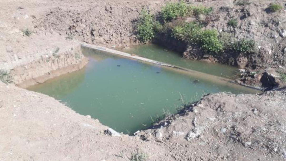 Ekmek parası için Şanlıurfa'dan Çorum'a giden ailenin çocukları, su birikintisinde ölü bulundu