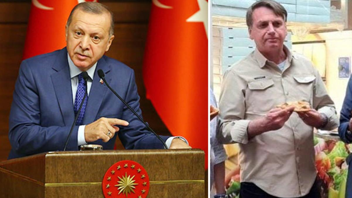 Erdoğan'ın da bulunacağı BM toplantısına katılacak Brezilya Devlet Başkanı Bolsonaro, aşısız olduğu için pizzacıya alınmadı