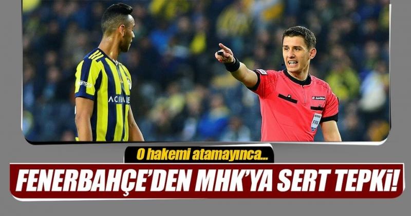 Fenerbahçe'den Hakemlere Tepki