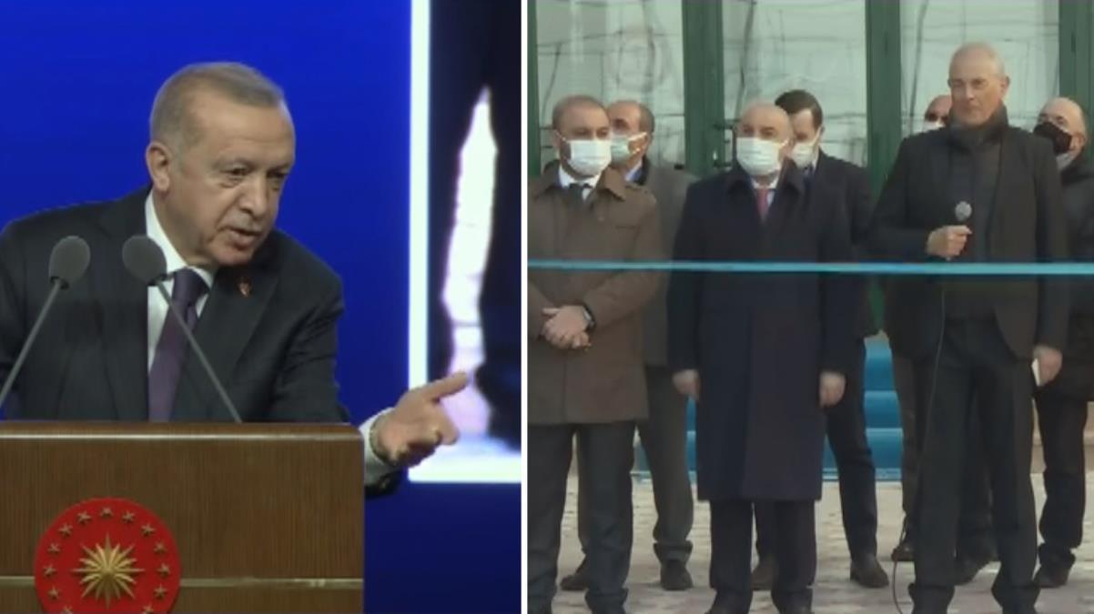 'Görüntüleri izletin' talebi iki kez karşılık bulmayan Erdoğan sinirlendi: Firma bu işlerde mahir değil mi?