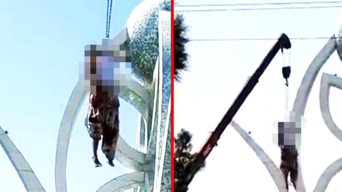 Halka açık idamlara başlayan Taliban, 4 kişiyi vince asarak öldürdü
