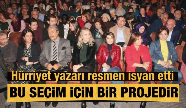 Hürriyet yazarı Şener: Bu tiyatro Demirtaş'ı parlatma projesidir