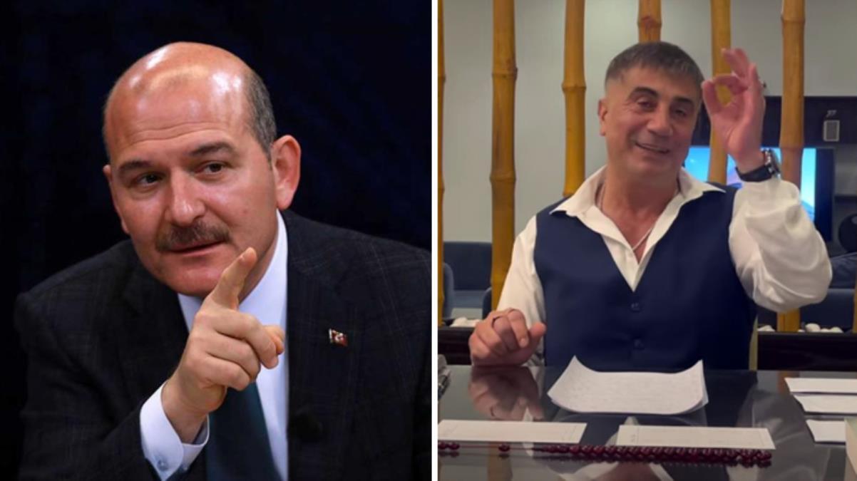 İçişleri Bakanı Süleyman Soylu'dan Sedat Peker'in iddialarına sert tepki: Operasyon faresi gibi kaçma, gel teslim ol