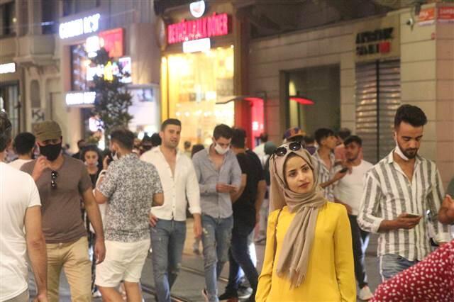 İstiklal Caddesi ve Maçka Parkı'nda bayram yoğunluğu