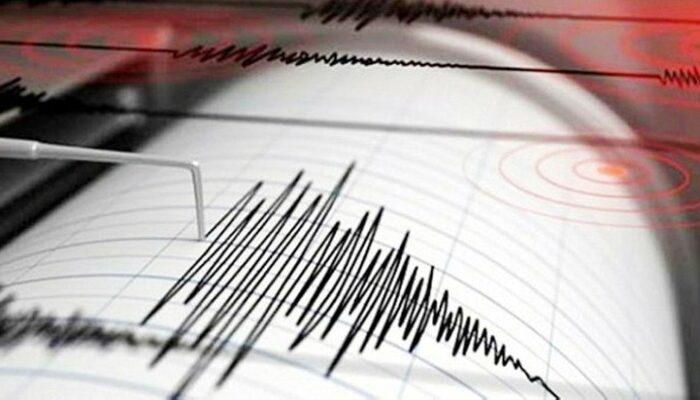 İzmir'de açıklarında 4.5 büyüklüğünde deprem