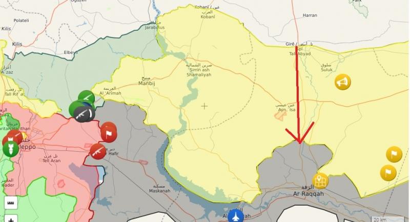 John McCain PYD'ye Tel Abyad ve Rakka Arasında Koridor Teklif Etti