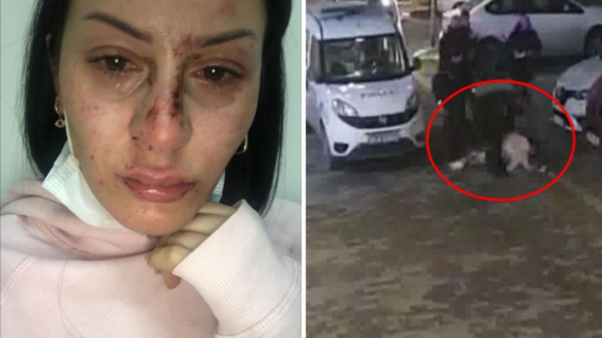 Kadına şiddet uygulayan polisin FETÖ soruşturması geçirdiği ortaya çıktı