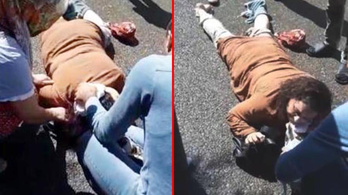 Karısını sokak ortasında vurdu, müdahale edene de çattı: Yaklaşma vururum