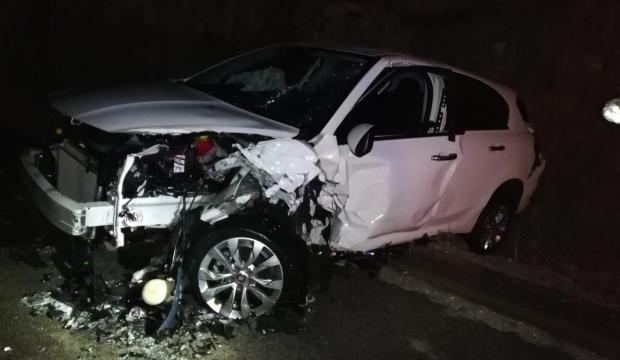 Kızıltepe'de korkutan kaza: 4 yaralı