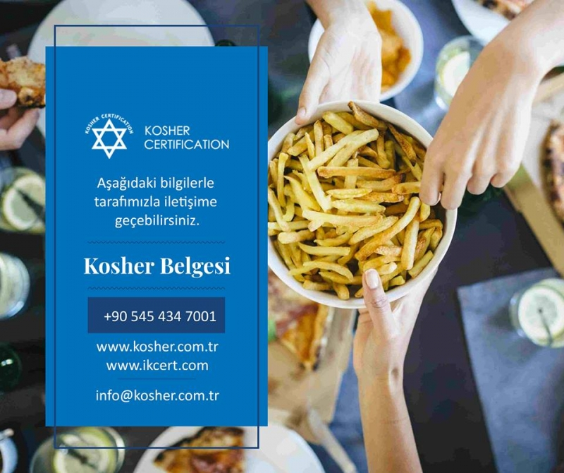 Kosher (Koşer) Belgesi