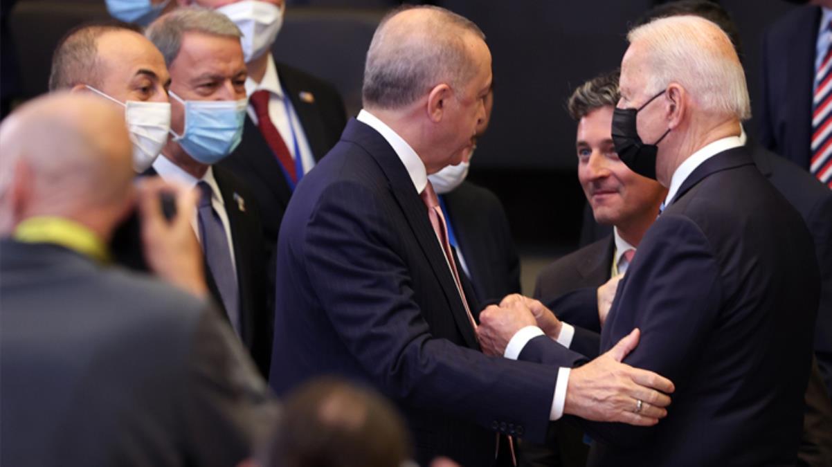 Kritik görüşmeye saatler kala Cumhurbaşkanı Erdoğan ile Biden arasında ilk temas gerçekleşti