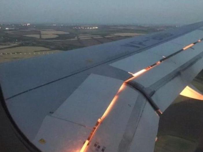 Milli Takım Uçağı Alev Aldı