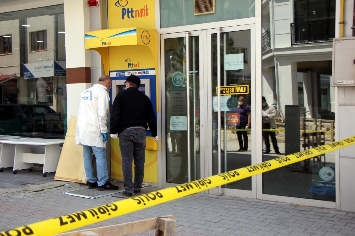 PTT'den 170 bin lira çalan şüpheli, başka şubede çalışan güvenlik görevlisi çıktı