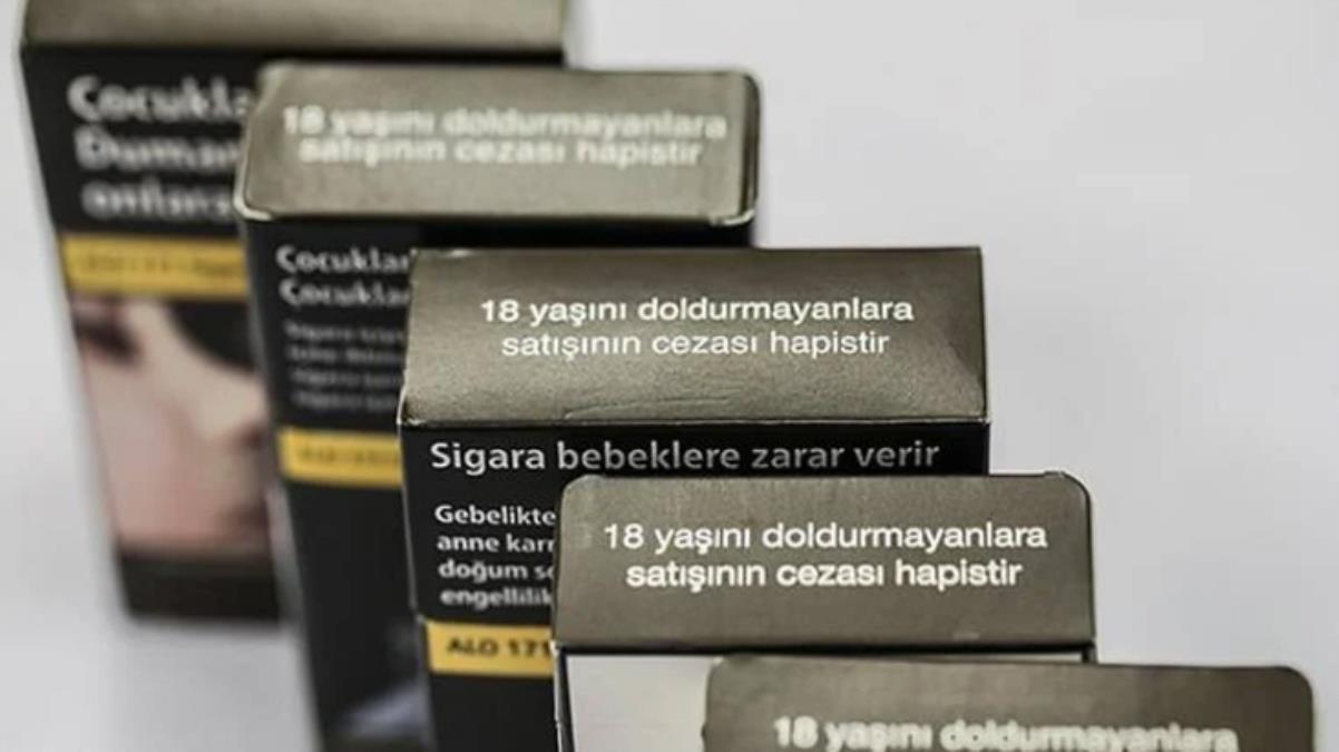 Sigara paketlerine yeni düzenleme! Marka adı veya şirket unvan kısaltmasının yazılması zorunlu oldu