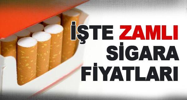 Sigara ve Alkole Zam - Yeni Sigara Fiyatları 1 Aralık 2016