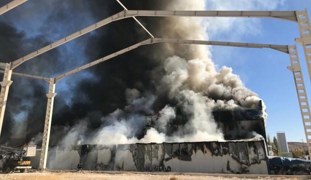 Sivas'ta büyük yangın