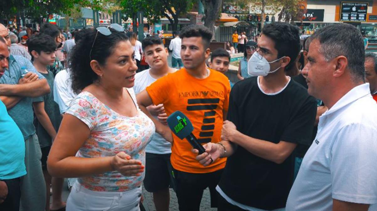 Sokak röportajında gaziye söylenen sözler sosyal medyada tepki topladı