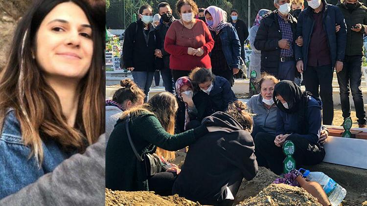 Son dakika haberler: İzmir'deki 6.6 büyüklüğündeki depremde hayatını kaybeden Buse toprağa verildi