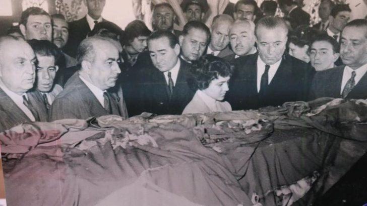 Tabut açıldı, Atatürk'ün yüzünü gördüm...