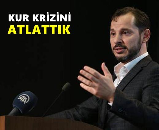 Türkiye kur krizini atlattı