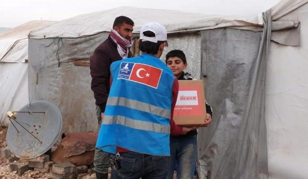 Ülker ve Deniz Feneri Suriye'de iyilikte buluştu