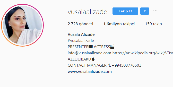 Vusala Alizade Artık Türkiye'de Yaşayacak
