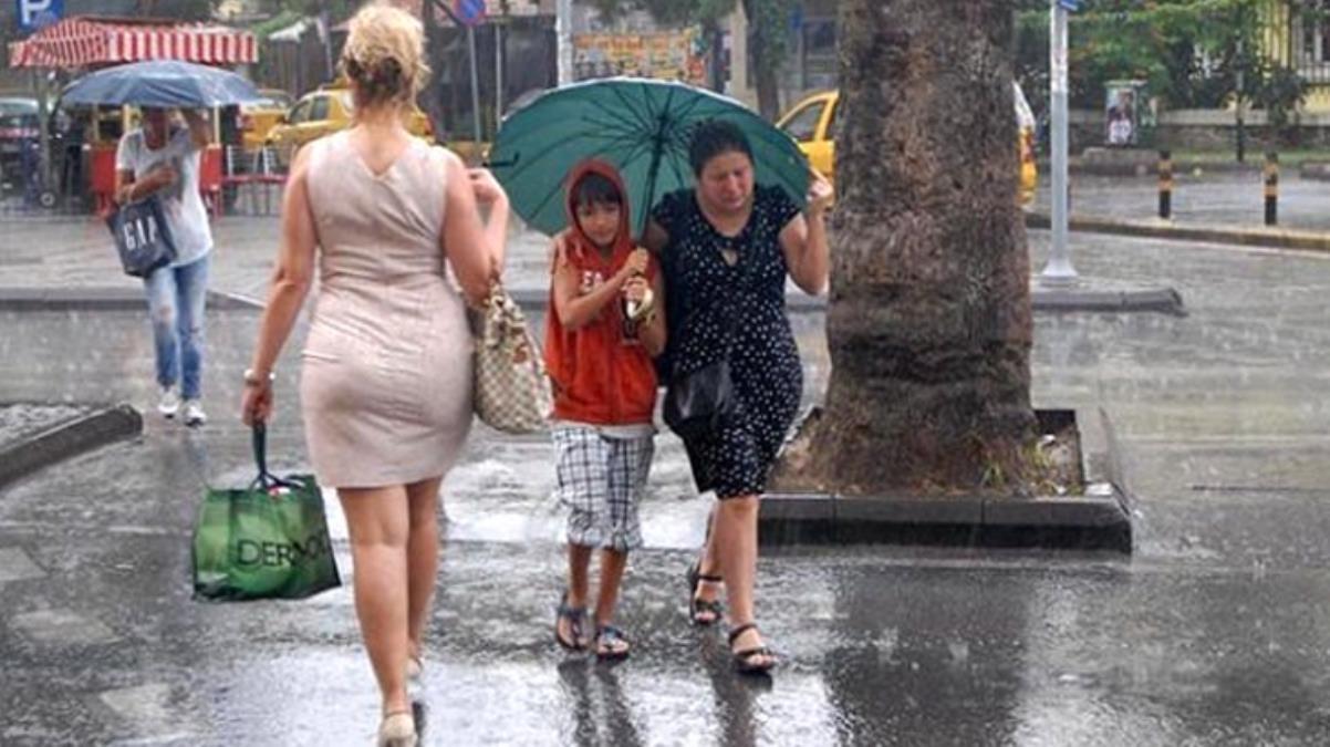 Yağış çok kuvvetli geliyor Meteoroloji bölge ve illeri tek tek sayıp uyarıda bulundu