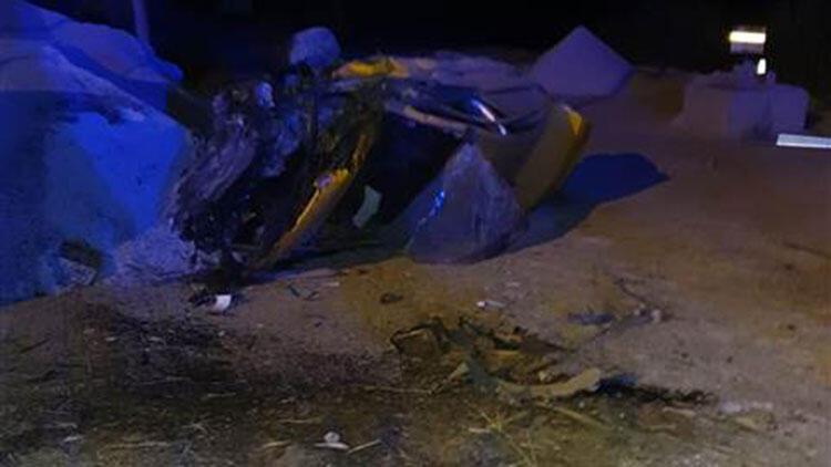 Aydın\'da feci taksi kazası! 1 kişi yaşamını yitirdi