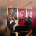 YPG'li şahıs toplantıda Faik Öztrak'a hesap sordu!
