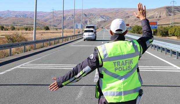 2 günde 1067 araç trafikten men edildi