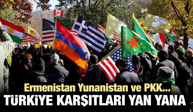 ABD'de Ermenistan Yunanistan ve PKK yan yana