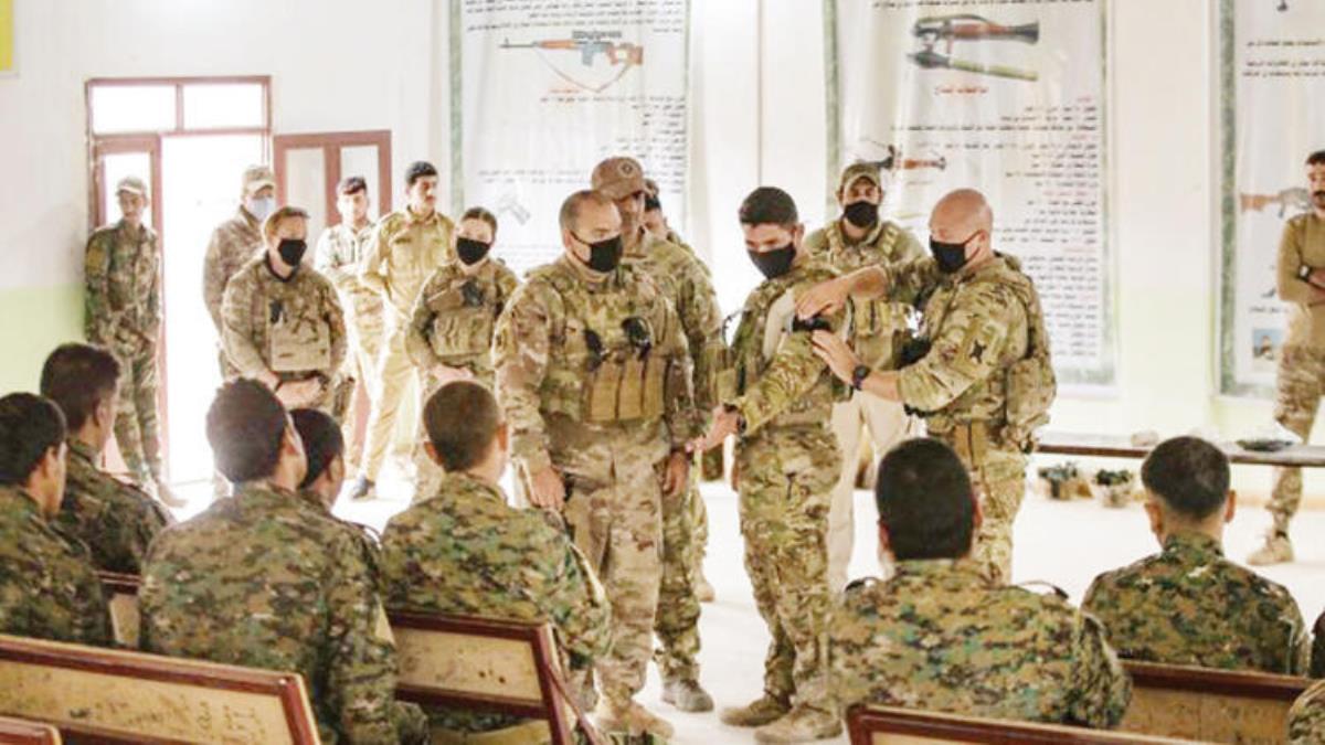ABD yine yaptı yapacağını! Terör örgütü YPG'ye 'sıhhıyeci eğitimi' verdiler