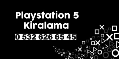 Adrese Teslim Kiralık PlayStation Hizmeti