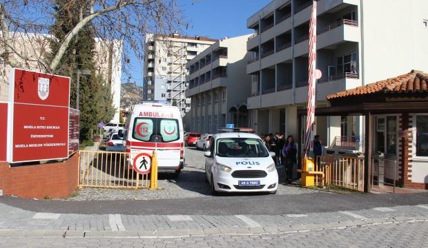 AFAD alarma geçti! Bomba ekipleri meslek yükseokuluna akın etti