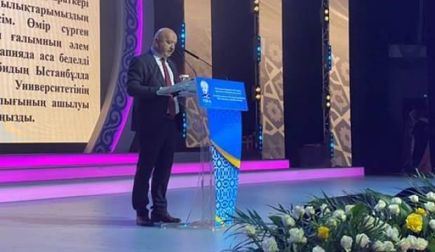AK Parti Ordu Milletvekili Metin Gündoğdu, Al-Farabi yılının açılış törenine katıldı