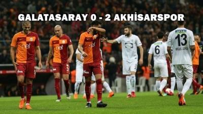 Akhisarspor , Galatasaray'ı 2-0 yenerek finale yükseldi!