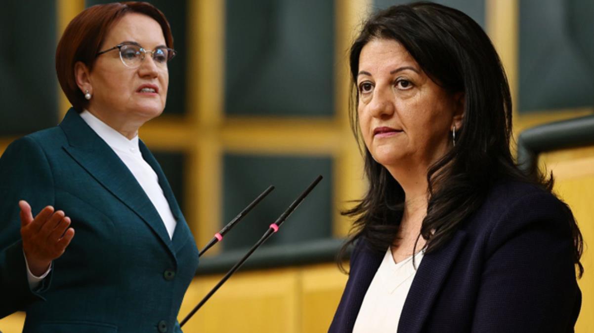 Akşener'in PKK'ya yönelik sözlerinden rahatsız olan HDP, görüşme talebinden vazgeçti