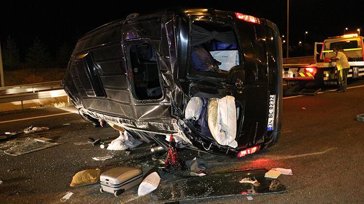 Ankara'da feci kaza! 3'ü ağır, 12 yaralı