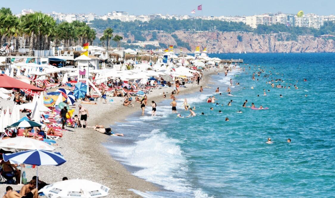 Antalya'ya pandemide 2 milyon turist
