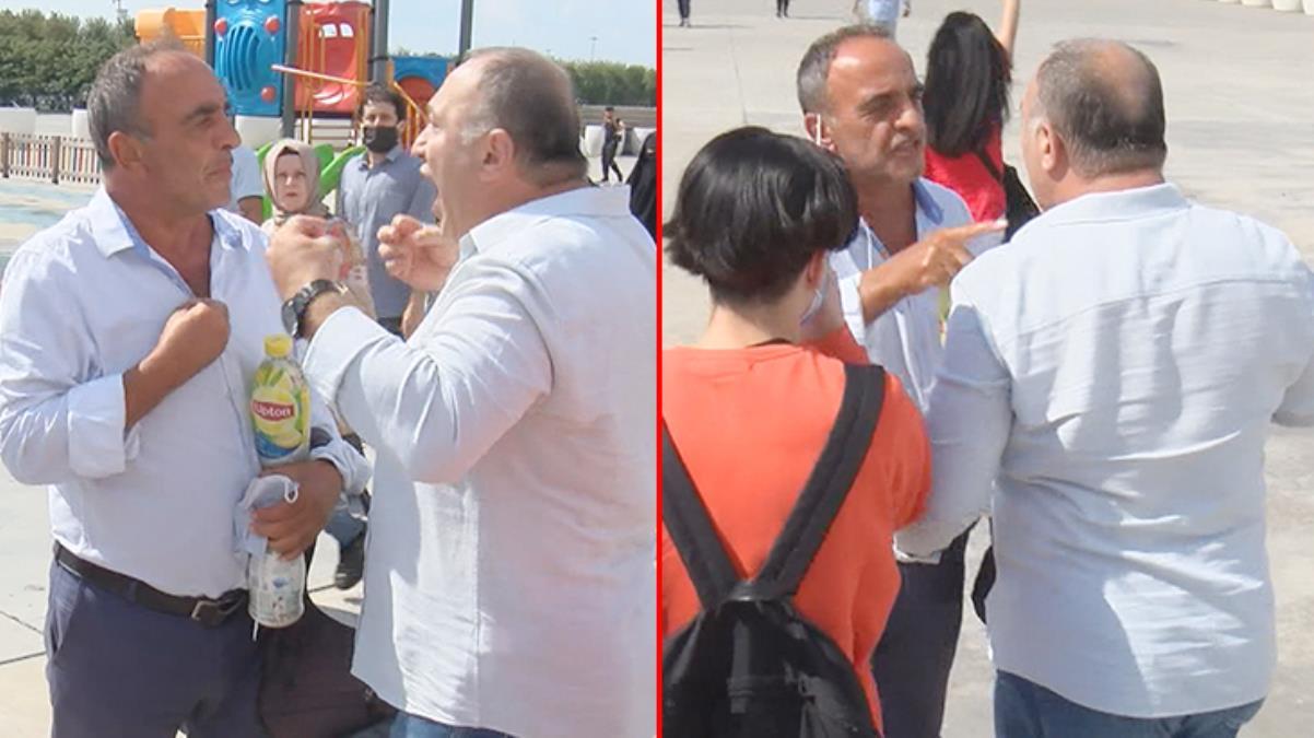 Aşı karşıtı mitinginde olay çıktı Tepki gösteren bir vatandaşı tartakladılar: Sen kimsin lan