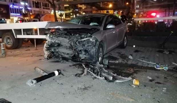 Bağdat Caddesi'nde dehşet saçan sürücü tutuklandı