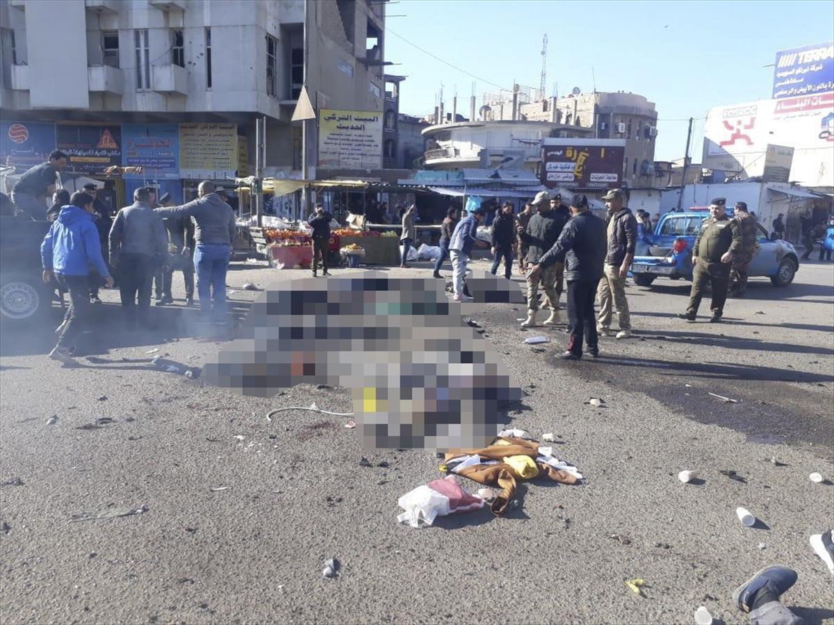 Bağdat'ta intihar saldırısı: 32 kişi hayatını kaybetti, 110 kişi yaralandı