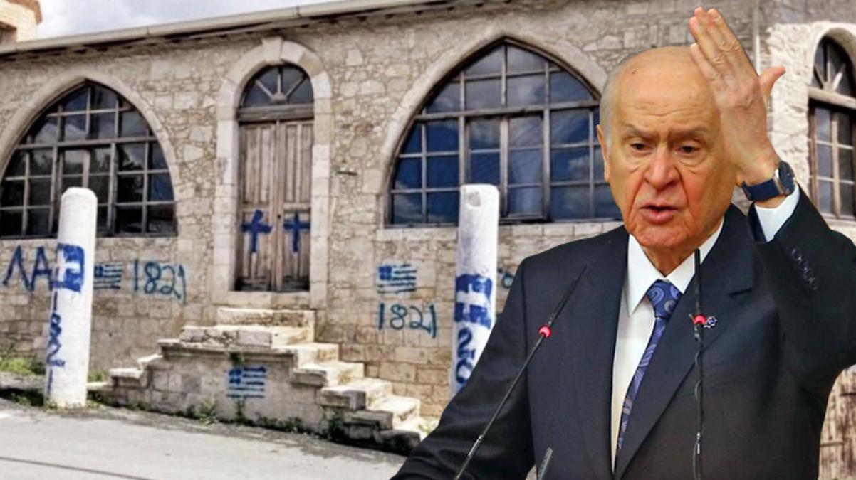 Bahçeli'den Kıbrıs Rum Kesimi'nde camiye yönelik saldırıya sert tepki: Hesap henüz kapanmadı, bedeli bir gün ödetilecek